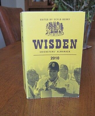 Wisden cricketers almanack 2010, soft cover. 147th year