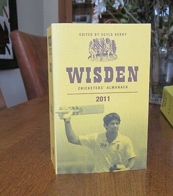 Wisden cricketers almanack 2011, soft cover. 148th year