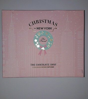 Too Faced palette The chocolate shop Christmas in New York.