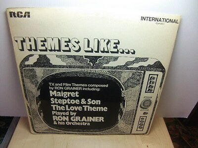 Ron Grainer – TV and Film Themes 1969 LP RCA International (Camden) INTS 1020