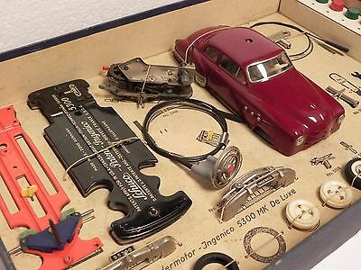Schuco Ingenico MK 5300 de luxe gift set tin toy car wind up in Box!