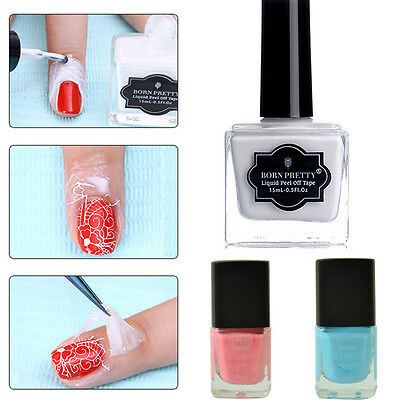 Born Pretty Nail Art Latex Peel Off Liquid Tape Polish  Base Coat DIY