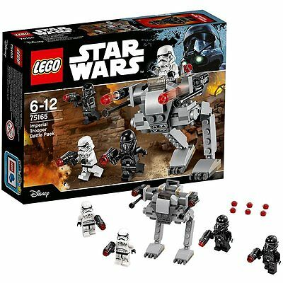 "NEW LEGO Star Wars 75165 ""Imperial Trooper Battle Pack"" Building Toy"