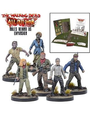 Mantic Games The Walking Dead BNIB Miles Behind Us Expansion Set MGWD009