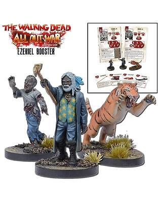 Mantic Games The Walking Dead BNIB Miniatures Booster Ezekiel (TWD) MGWD113