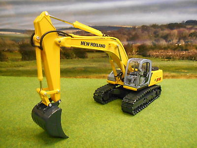 Ros New Holland E215 Tracked Excavator 1/32  Boxed & New 00175.6