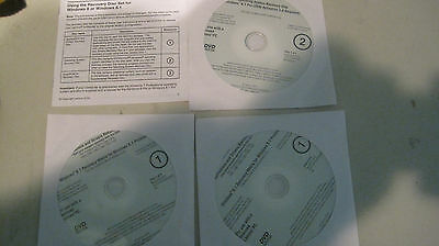 Lenovo Windows 8.1 Pro Operating Systems Recovery Disc and Drivers 3.0  Lot M267