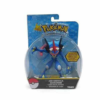 Pokemon ASH-GRENINJA Action Figure 6 inch LIMITED UK STOCK  NEW BOXED Tomy