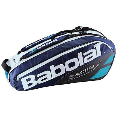 Babolat Pure Line Wimbledon 6 Racket Racquet Holder Bag - NEW 2017 Tennis