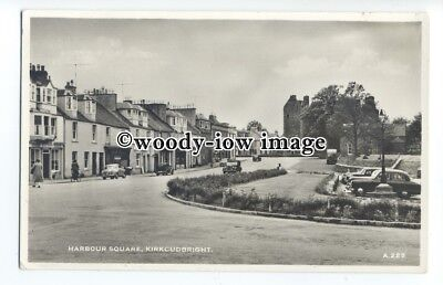 aj0132 - Harbour Square , Kirkcudbright , Scotland - postcard