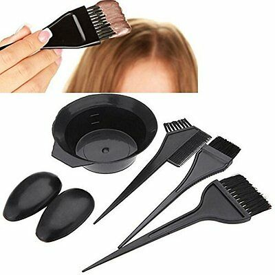Hair Dye Set Kit With Perfect and Necessary Accessories for DIY Hair Dye - 5 Pcs