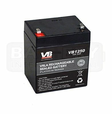 Replacement Battery for Liftmaster Perfect Operates Garage Door Opener 12 Volt