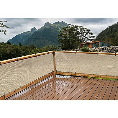 Mesh Elegant Privacy Screen Great for Patio Balcony Pool Porch 35 Inch & 10 Feet