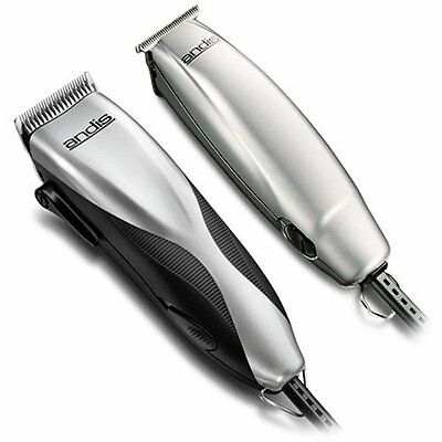 Haircutting Kit Promotor Trimmer and 23 Piece Clipper Best for Detailing Silver