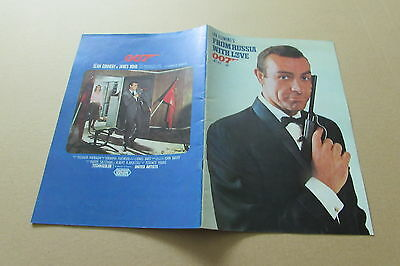 From Russia With Love Bond Connery Very Rare Program From Japan (May 20)