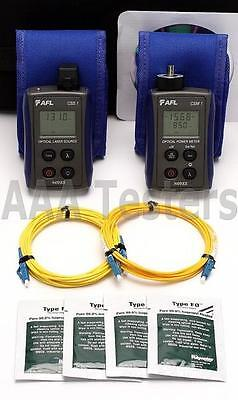 AFL Noyes CKS-2 SM Fiber Optic Loss Test Set CSM1-2 CSS1-SM CSS1 CKS 2