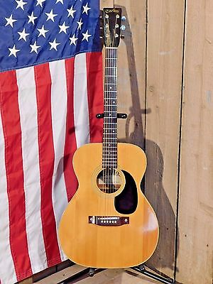 Carlos Model 207 Acoustic guitar 000 size Funky...