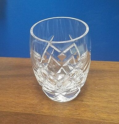 """WATERFORD crystal GIFTWARE collection shot glass, 2 1/4"""" tall"""