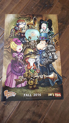 2016 Sdcc Comic Con Exclusive Fox Tbs Poster American Dad Roger Stan Smith Klaus