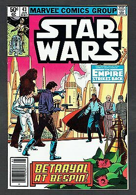 Star Wars #43 Marvel Comics 1981 VF George Lucas Sci-Fi The Empire Strikes Back