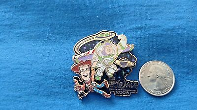 DISNEY Pin 47216 WDW It All Started With Walt Animation Pixar's Toy Story