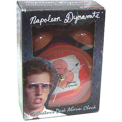 Napoleon Dynamite Desk Alarm Clock New Official New In Box Nib