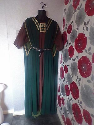 Quality Hand Crafted Medieval/tudor  Style 3 Piece Outfit Size L