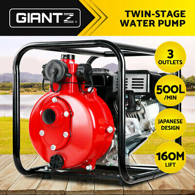 "8HP 1.5'' & 2"" Petrol High Pressure Water Transfer Pump Irrigation Fire Fighting"