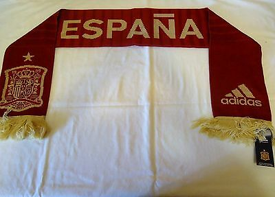 Spain 2014 Official Licensed Adidas Scarf New
