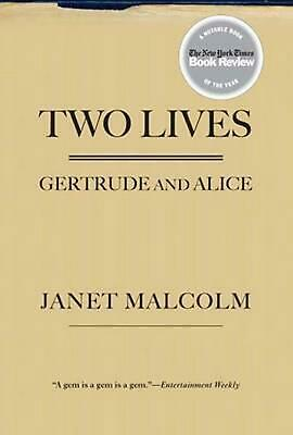 Two Lives: Gertrude and Alice by Janet Malcolm (English) Paperback Book Free Shi