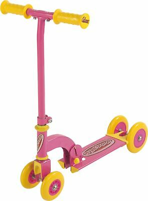 Ozbozz My First Scooter Convertible 4 / 3 / 2 Wheels - Pink & Yellow A