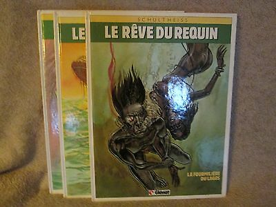 Lot Le reve du requin 3 tomes  E.O
