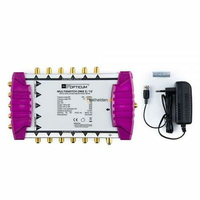 Opticum OMS 5/12 Gold Line Multischalter Multiswitch 1 Satellit - 12 Teilnehmer
