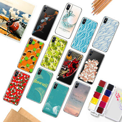 TPU Soft Case Fruit Pattern Clear Silicona Cover For iPhone SE 6 7 8 5 S Plus