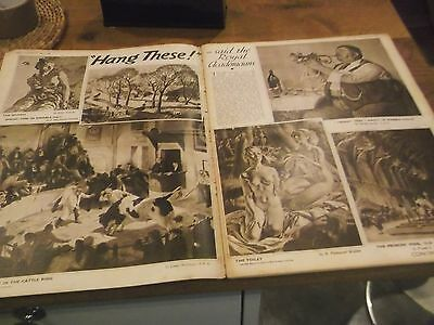 1936 Weekly Illustrated Mag- Royal Academy Exhibition Inc Dame Laura Knight