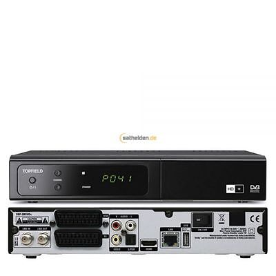 Topfield SBP 2001 HD+ easy HDTV Sat Receiver 6 Monate HD+ 1080i Internet Radio