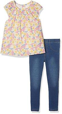 Mothercare - Floral Set, Jeans Fille, , - -71 [915186] [Jaune] [1-2 ans] NEUF