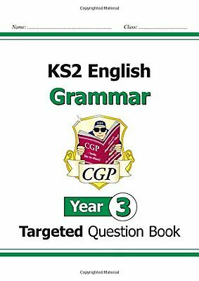 KS2 English Targeted Question Book: Grammar - Year 3 New Paperback Book CGP Book