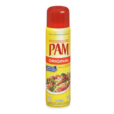 (1,71 Eur/100g) MHD 11/17 PAM Original Oil Cooking Spray 170g Low Calories