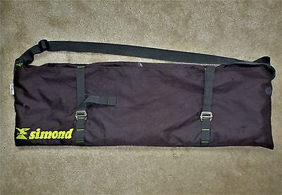 Rock climbing, mountaineering, rigging Simond rope bag and groundsheet