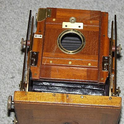 SANDERSON'S Patent Half-Plate field camera BODY ONLY + 5x4 reducing back