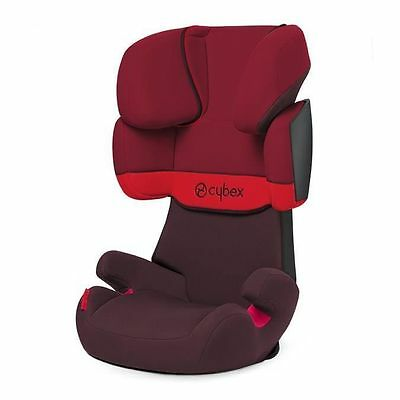 CYBEX - Siege Auto Groupe 2/3 Solution X Rumba Rouge NEUF