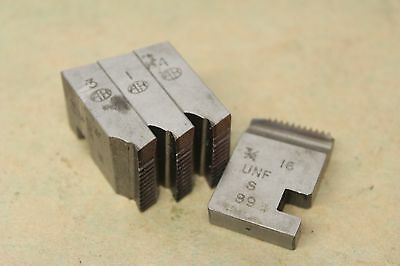 "Alfred Herbert 3/4"" x 16 Tpi UNF Coventry Die Chasers For 1"" Head CD279"