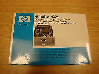 HP JetDirect 620n Fast Ethernet Print Server Card - Brand new in sealed box