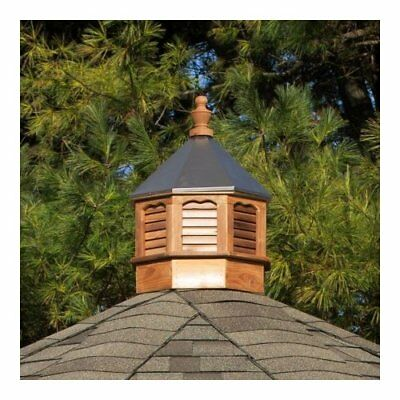 YardCraft Octagon Cedar Wood Cupola