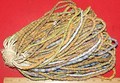 Bundle of (50) Strands of Sandcast Trade Beads #8....Buy It Now