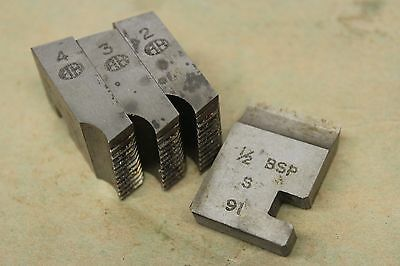 """Branded 1/2"""" x 14 Tpi BSP Coventry Die Chasers For 1"""" Head CD300"""