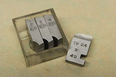 "Alfred Herbert No. 10 x 28 Tpi UNC Coventry Die Chasers For 1/2"" Head CD334"