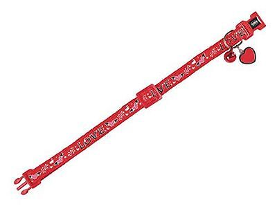 Nobby - Charm Collier pour Chat 10 mm 20/30 cm Rouge [77907] [1x30x1,5cm] NEUF