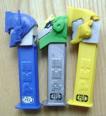 New 2017 European Pez Mint Loose Set Transformers Scan And Play With Code